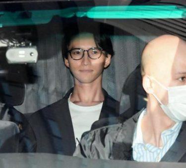 田口淳之介容疑者送検時の不可解な笑みは中丸さん曰く「口角が上がる癖」のようです!