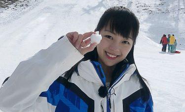 紀真耶アナのスキー服がかわいい!大学の年下彼氏とは!?カップも推定!